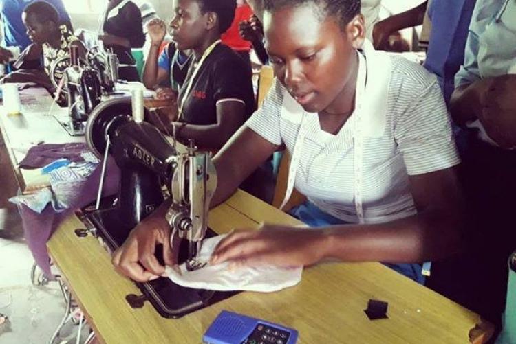 Näh-Workshop für Frauen in Uganda